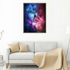 5D DIY Diamond Painting Love Wolf Embroidery Cross Stitch Mosaic Painting Decor