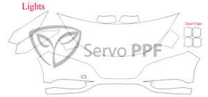 Precut 3M PRO Series Clear Bra Kit for 16-18 Honda HR-V HRV