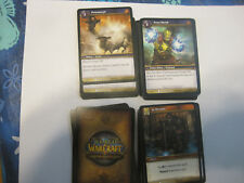 world of warcraft 100 card lot assorted