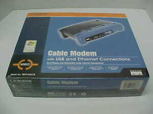 LINKSYS Cable Modem Model BEFCMU10 w/USB Ethernet Wired Brand New Factory Sealed