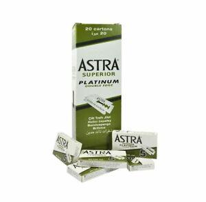 Astra Superior Platinum Double Edge Razor Blades