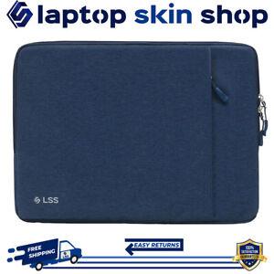 Laptop Sleeve Case Carry Bag Protective Shockproof Handbag 14-15.6 Inch Blue