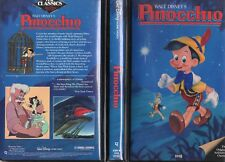 PINOCCHIO - Walt Disney  VHS - NTSC - NEW - Never played! - Original USA release