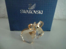 Swarovski figura lovlots mini mo en beige, personaje de vidrio