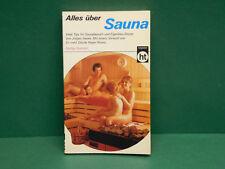 Buch Alles über Sauna Jürgen Haake Tips für Saunabesuch & Eigenbau-Sauna