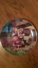 Squeaky Clean - Hummel Little Companions 8 Inch Collector Plate