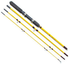 "EAGLE CLAW Pack It Rod Spin /Fly 7'6"" 4Pc Medium #PK601-76 FREE USA SHIPPING!"