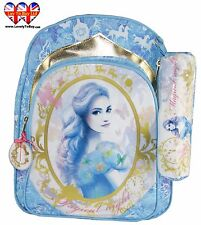 Luxury Cinderella School Bag+Pencil Case,Officially Licensed Backpack,RRP £39.99