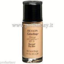REVLON COLORSTAY FONDOTINTA DRY SKIN 180 SAND BEIGE SPF 15