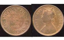 INDE    one quarter anna  1883