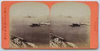 Marsiglia Foto Stereo Neurdein di Carta Albume D'Uovo Vintage Ca