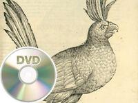 Ornithologiae 1599-1603 - U. Aldrovandi  - 3 DVD's