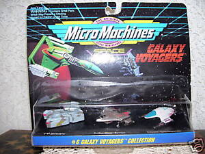 1993 Micro Machines Galaxy Space Voyagers #6 MIP Galoob