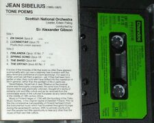 SIBELIUS COMPLETE TONE POEMS CASSETTE 1 ONLY PHYLLIS BRYN-JULSON RSNO GIBSON