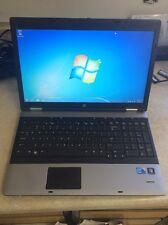 HP 6550b Probook Windows 7 pro i3-370m 2.40GHz 4GB RAM 250GB HDD