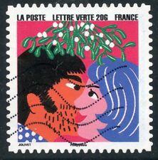 TIMBRE FRANCE  AUTOADHESIF OBLITERE N° 1190 / BONNE ANNEE / FETE DE FIN D'ANNEE