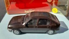Herpa Opel Kadett E 5drs GLS Scale HO 1/87 brown origineel doosje / original box