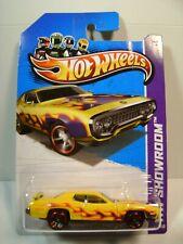 2013 Hot Wheels #215 - 1971 Plymouth Roadrunner - HW Showroom - Heat Fleet