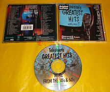 TELEVISION'S GREATEST HITS FROM THE 50'S AND 60'S VOLUME II 2 - CD 1996 - USATO