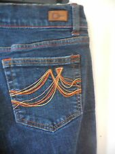 DKNY Women's Times Square Stretch Jeans, Dark Wash, Flare Leg, Size 7