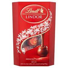 Lindt Lindor chocolate con leche trufas Caja 200g Boda Favores carro de mesa 046093
