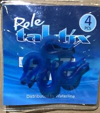 Taktix Pole Elastic Savers Protectors, Set Of 4. Free P&P