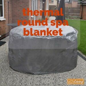 Round Thermal Spa Blanket Protector For Hot Tubs, Spas & Lay Z Spas