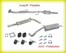 Abgasanlage + Katalysator Skoda Fabia I Combi 1.4 16V AUA/B BBY/Z 55 & 74KW+Kit