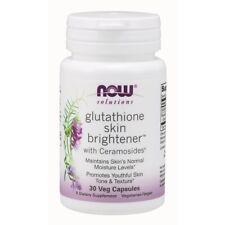 Now Foods Glutathione Skin Brightener - 30 Veg Capsules FRESH, FREE SHIPPING