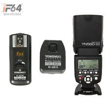 YongNuo YN560III Speedlite + RF-602 2.4GHz Wireless Remote Flash Trigger f Canon