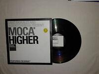 "Moca – Higher – David Morales- Disco 12"" Vinile Stampa UK 2000 House"