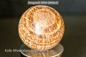 Aragonit Kugel Ø50 (902ct) Peru      ֎֎  Preisvorschlag möglich  ֎֎