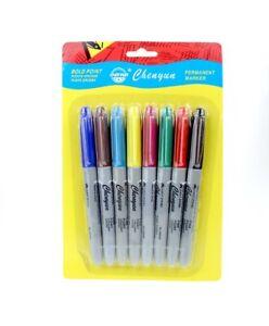 feutre de couleur / coloriage , marqueurs , 8pcs ,  déstockage + cadeau : MASQUE