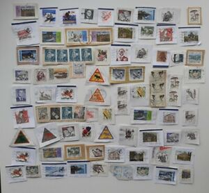 Collection Of Sweden Stamps Kiloware