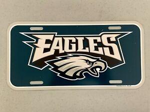 Philadelphia Eagles NFL Football Vibrant Retro Plastic License Plate Wall Decor