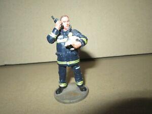 925Q Del Prado No 85 Firefighter Airport Of Barajas Madrid 2003 Figurine 1/32