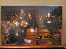 Metallica rock n roll poster 1989 3825
