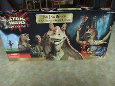 1999 Star Wars Episode I Jar Jar Binks 3-D Adventure Board Game 100% Complete !