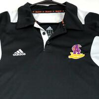 Adidas Trojans Men's Short Sleeve Pullover Polo Shirt Large L Activewear