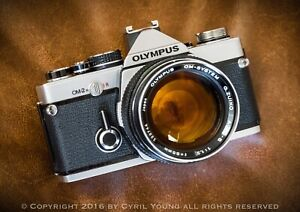 Olympus OM System G.Zuiko Auto S 55mm f/1.2 Manual Focus Lens AU Exc+++ #122744