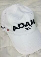 Brand New Adams Golf Super S Strapback Cap White New Era Summer Spring Sport