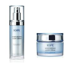 AMORE PACIFIC IOPE Moisturizing Glow Cream 40ml & Serum 40ml With /Tracking No