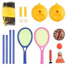 Volleyball Badminton Set Outdoor Sport Spiel Familie Kinder Garten Spiel