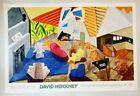 NEW! David Hockney LARGE INTERIOR LOS ANGELES Metropolitan Museum of Art POSTER