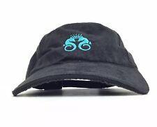 Crystal Symphony Black Baseball Cap Hat Adj Adult Size Polyester