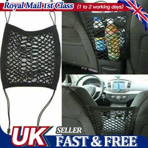 Car Seat Hanging Bag Mesh Pocket Net Storage Boot Tidy Organiser Nylon Holder UK