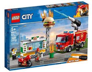 Burger Bar Fire Rescue, LEGO® City 60214 -Fast Dispatch Free P&P