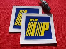 Pair of IP fairing stickers Italiana Petroli