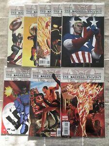 The Marvels Project 2009 Comic Lot, Variants, NM, Brubaker, Captain America