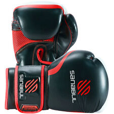 Sanabul Essential Gel Training Boxing Gloves - Red